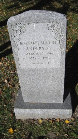 Margaret <i>Slaight</i> Anderson
