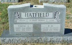 Edith I <i>McDonald</i> Hatfield