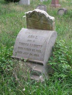 Anna D. <i>Kelley</i> Garrett