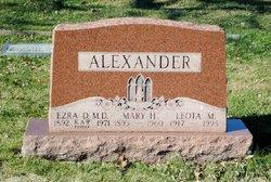Dr Ezra Dee Alexander