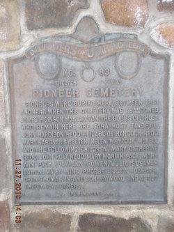 Pioneer Heritage Cemetery