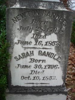 William Henry Newton Randle