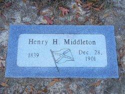Pvt Henry H. Middleton