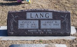 Evelyn L. <i>Roberts</i> Lang