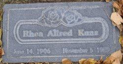Rhea <i>Allred</i> Kunz