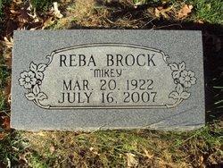 Reba M. <i>Steele</i> Brock