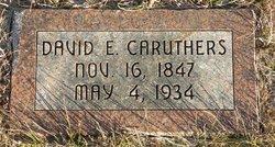 David E Caruthers