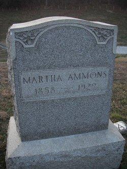Martha <i>Tennant</i> Ammons