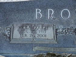 Viola <i>Gough</i> Brown