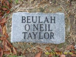 Beulah <i>O'Neil</i> Taylor