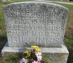 Clara Roseanne Billings