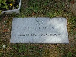 Ethel L Oney
