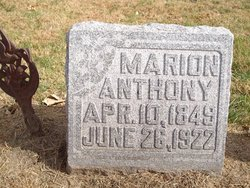 James Marion Anthony