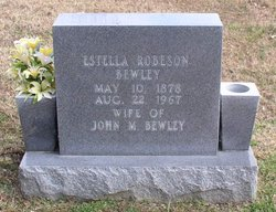 Cora Estelle Estelle <i>Robeson</i> Bewley