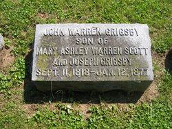 Gen John Warren Grigsby
