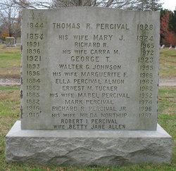 Mary Jane <i>Siggins</i> Percival
