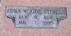 Edna <i>Woods</i> Stevens
