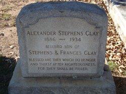 Alexander Stephens Clay