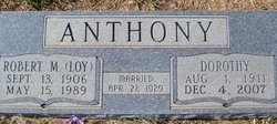 Robert M Loy Anthony