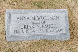 Anna Moore <i>Wortman</i> Alpaugh