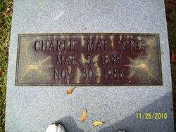 Charlie Mae <i>Hardy</i> Long