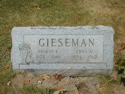 Edna M <i>Swanger</i> Gieseman