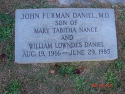 John Furman Daniel