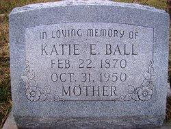 Katie Elizabeth <i>Barrow</i> Ball