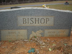 Annie <i>Pitts</i> Bishop