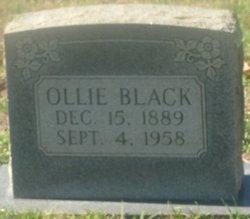 Ollie <i>O'Dell</i> Black