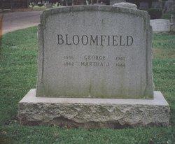 Martha Jane Mattie <i>Parks</i> Bloomfield