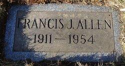 Francis J Allen