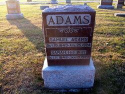 Sarah <i>Cotner</i> Adams