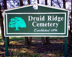 Druid Ridge Cemetery