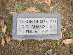 Infant Son Adams