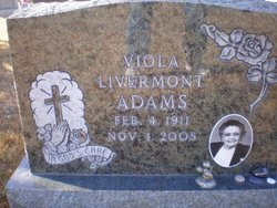 Viola Mary <i>Livermont</i> Adams
