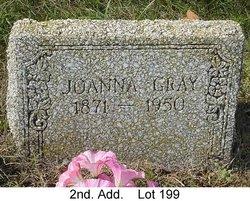 Joanna <i>Oliver</i> Gray