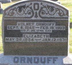 Elizabeth <i>Wilson</i> Ornduff