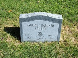 Pauline <i>Dashner</i> Ashley