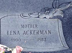Lena Richard <i>Ackerman</i> Davis