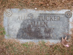 Alice <i>Tucker</i> Allen