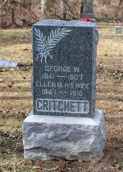 Ellen M. <i>Reeves</i> Critchett