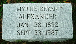 Myrtie <i>Steadman</i> Alexander