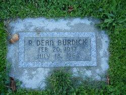 R Dean Burdick