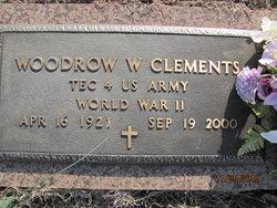 Woodrow W Clements