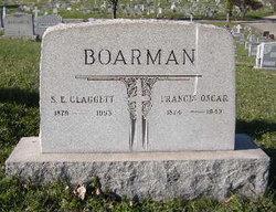 Sarah Emily <i>Claggett</i> Boarman