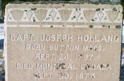 Capt Joseph Holland