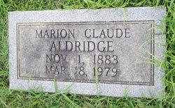 Marion Claude Aldridge