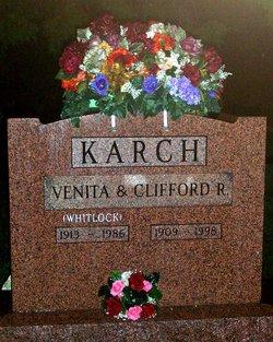 Venita B <i>Whitlock</i> Karch