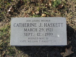 Catherine <i>Jones</i> Haskett